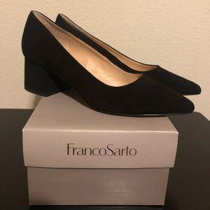 Franco Sarto Short Block Heel
